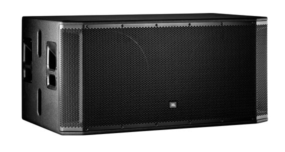 JBL SRX828SP Dual 18 Inch 2000 Watt Powered Subwoofer