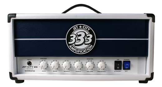 Jet City JCA20H Anniversary Edition Tube Guitar Amplifier Head
