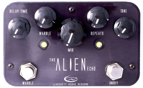 J Rockett Audio Alien Echo Pedal