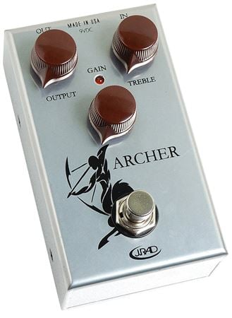 J Rockett Audio Designs Archer Tour Series Overdrive Pedal