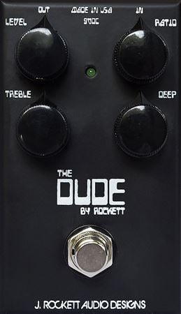 J Rockett The Dude Overdrive Pedal