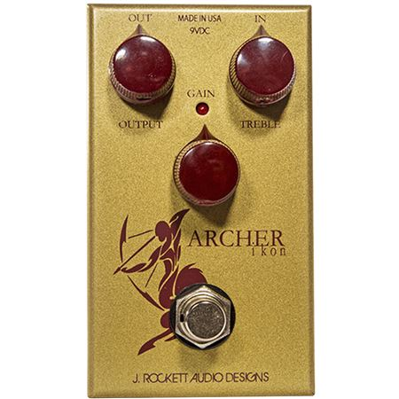 J Rockett Audio Archer Ikon OD and Boost Pedal