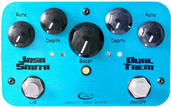 J Rockett Audio Designs Josh Smith Dual Trem Guitar Pedal