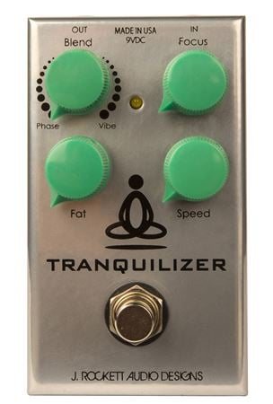 J Rockett Tranquilizer Vibe and Phase Pedal
