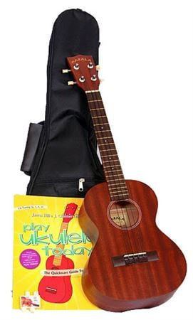 Kala Makala KAJH2 James Hill Concert Ukulele Package