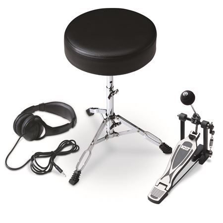 KAT Drum Throne/Drum Pedal/Headphone Expansion Pak