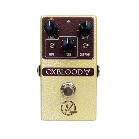 Keeley Oxblood Overdrive and Boost Pedal