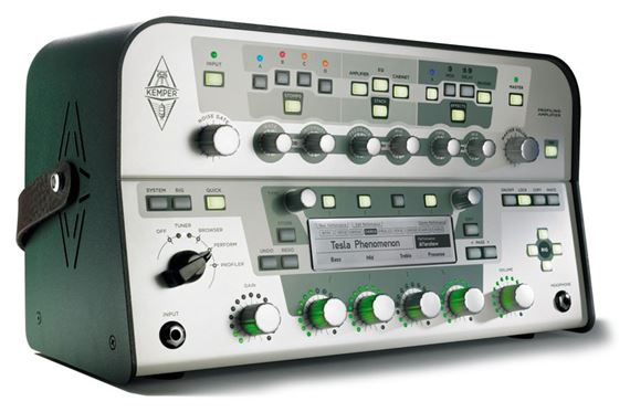 Kemper Profiler Amplifier Guitar Amp Modeling PreAmp Processor