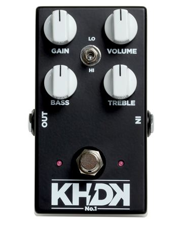 KHDK No 1 Overdrive Pedal