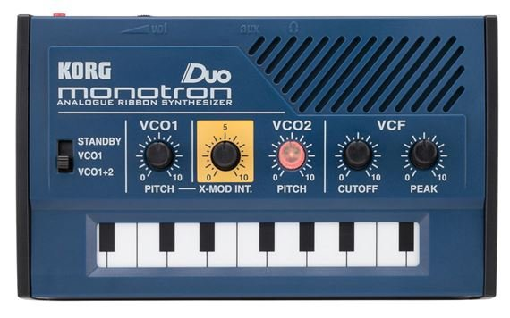 Korg MonoTron Duo Dual Oscillator Analog Synthesizer