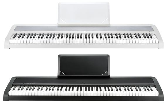 Korg B1 Digital Piano with Natural Weighted Hammer Keyboard