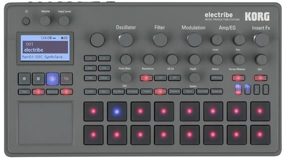 Korg Electribe Synth Music Production Station