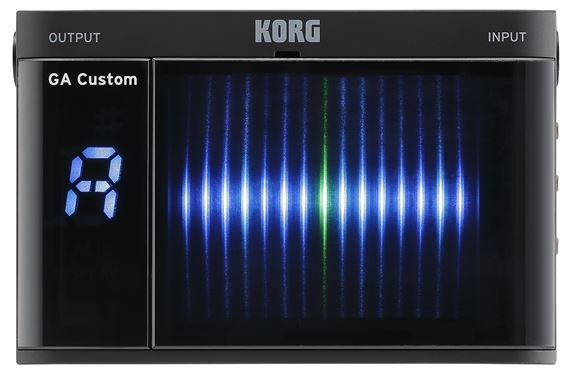 Korg GA Custom Guitar Tuner with 3D Visual Meter