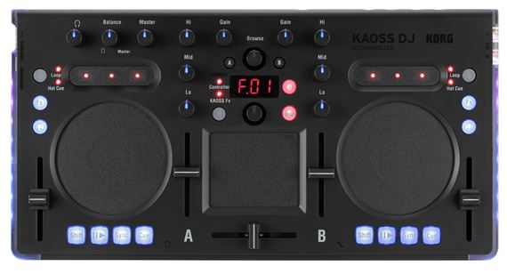 Korg Kaoss DJ USB Controller with FX