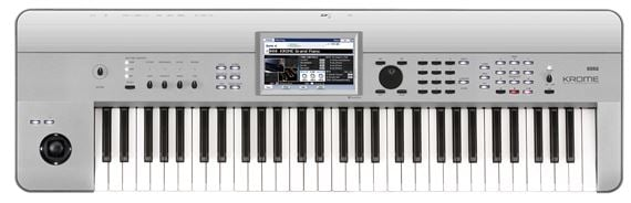 Korg Krome61 61 Key Synthesizer Workstation Keyboard