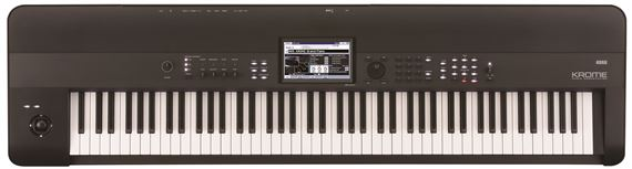 Korg Krome88 88 Key Synthesizer Workstation Keyboard