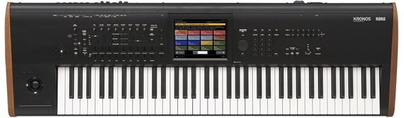 Korg Kronos7 73 Key Music Synthesizer Workstation Keyboard