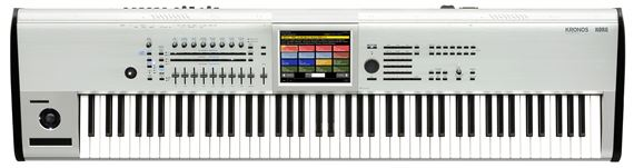 Korg Kronos 8 88 Key Music Workstation Platinum Limited Edition