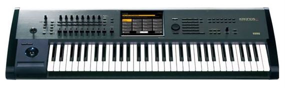 Korg KronosX61 61 Key Synthesizer Workstation Keyboard