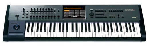 Pjurkkra774  Korg KronosX61 61 Key Synthesizer Workstation