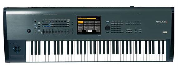 Korg KronosX73 73 Key Synthesizer Workstation Keyboard