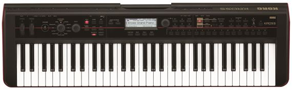 Korg Kross61 61 Key Mobile Synthesizer Workstation Keyboard