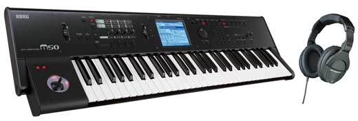 Korg M50 61 Key Synthesizer Keyboard