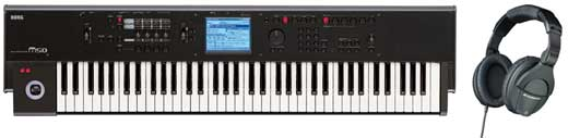 KORG M5073 73 Key Synthesizer Workstation