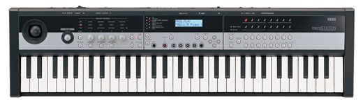 Korg microSTATION 61 Key Synthesizer Workstation