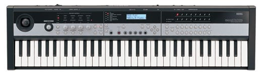 Pjurkkra774  Korg microSTATION 61 Key Synthesizer Workstation