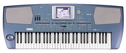 Korg PA500 61 Key Pro Arranger Keyboard