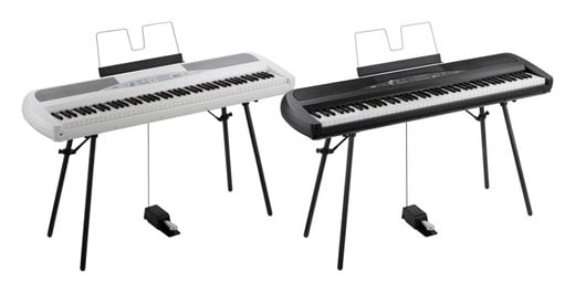 Korg SP280 88 Key Digital Piano with Stand