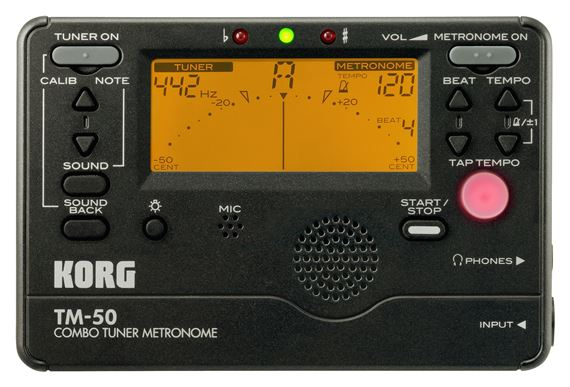 Korg TM50 Instrument Tuner and Metronome
