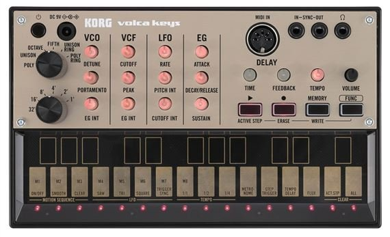 Korg VolcaKeys Analog Lead Synthesizer