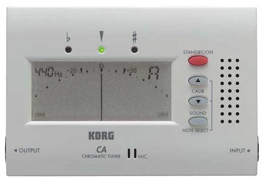 Korg CA40 Digital Chromatic Tuner