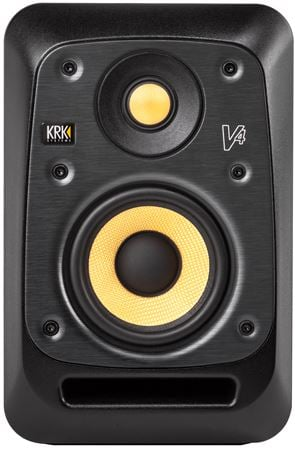 KRK V4S4 V Series 4 4 inch 2 Way Powered Nearfield Reference Monitor