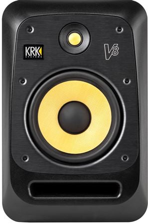 KRK V8S4 V Series 4 8-inch 2-Way Powered Monitor
