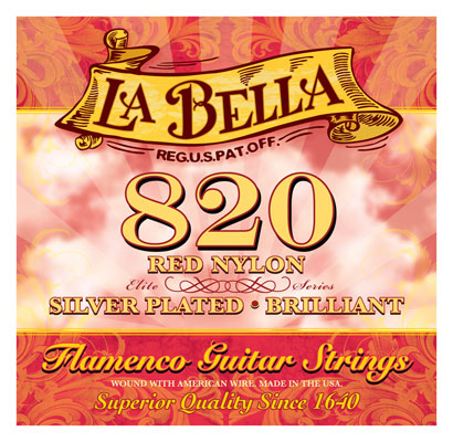 La Bella 820 Flamenco Classical Guitar Strings