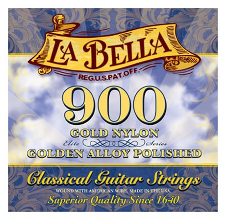 La Bella 900 Gold Nylon Superior Classical Guitar Strings