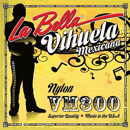 La Bella Vihuela De Mexico 5 String Set
