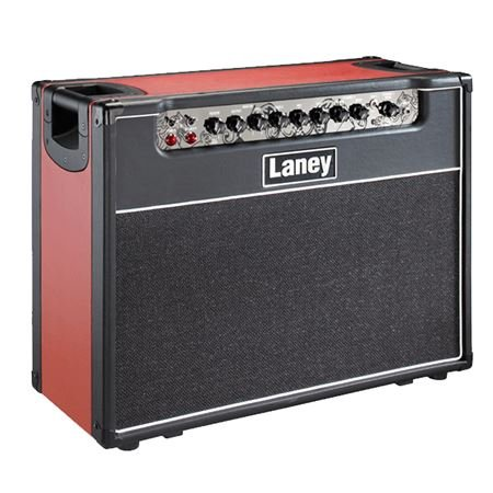 Laney GH50R 2 Channel Tube Guitar Combo with Reverb 2x12 50 Watts