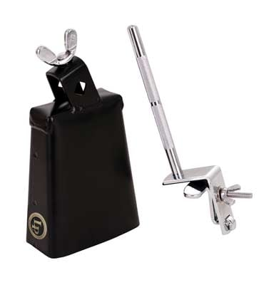 Latin Percussion NY Cowbell with Gibraltar Mount
