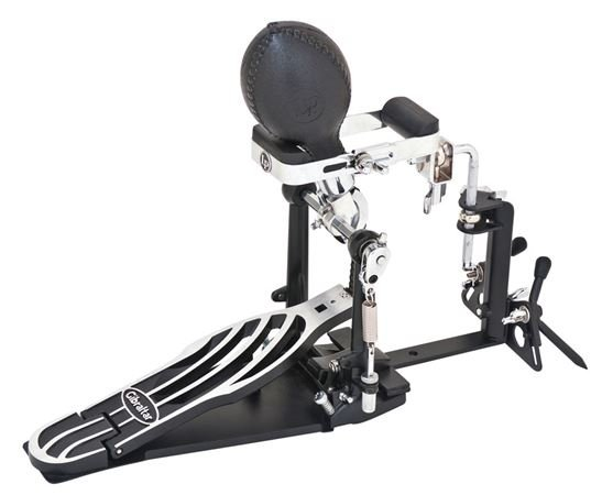 Latin Percussion LP 281 Fusheki Pedal Bracket with Maraca