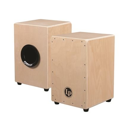 LP Aspire LPA1331CB Tour Snare Cajon Natural With Cajon Port and Bag