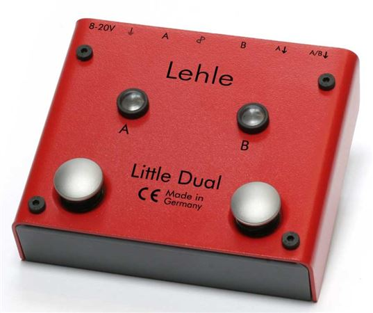 Lehle Little Dual Amp Switcher AB Pedal