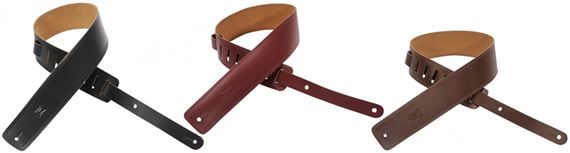 Levys DM1 Leather Guitar Strap