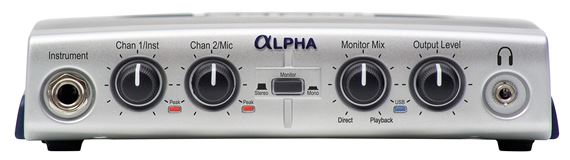 Lexicon Alpha USB Audio Interface with Cubase LE Software