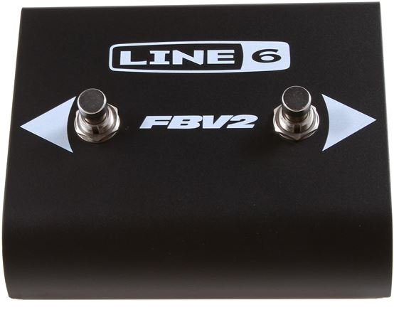 Line 6 FBV2 2 Button Guitar Amp Footswitch