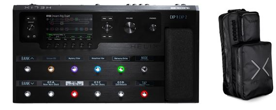 Line 6 Helix Floorboard Dual DSP Audio Engine Guitar Processor
