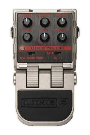 Line 6 ToneCore MS2 Uber Metal Distortion Pedal